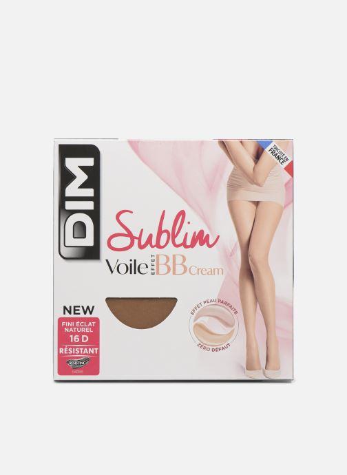 Chaussettes et collants Dim SUMBIM COLLANT VOILE EFFET BB CREAM 16D Beige vue détail/paire