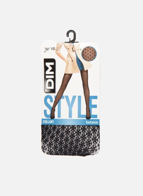 Socken & Strumpfhosen Dim STYLE Crochet Berbère 74D schwarz detaillierte ansicht/modell