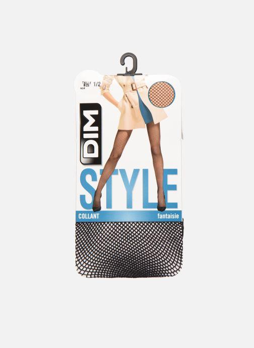 Chaussettes et collants Dim STYLE RESILLE 73D Noir vue détail/paire