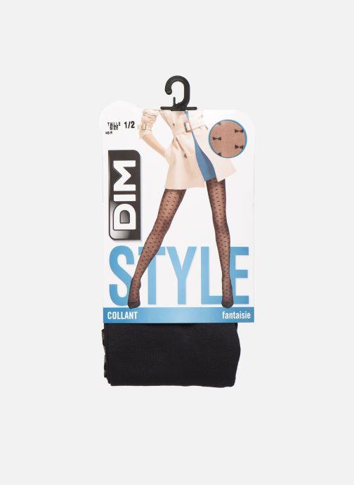 Socken & Strumpfhosen Dim STYLE Petits Nœuds 20D schwarz detaillierte ansicht/modell
