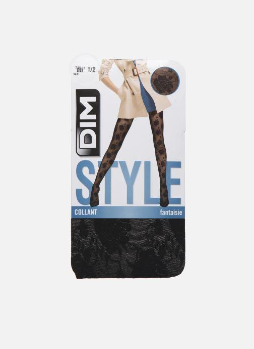 Chaussettes et collants Dim STYLE Rose Couture 20D Noir vue détail/paire