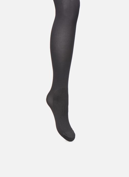Chaussettes et collants Dim COLLANT OPAQUE SPECIAL SNEAKERS 40D Noir vue face