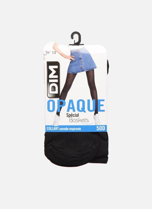 Chaussettes et collants Dim COLLANT OPAQUE SPECIAL SNEAKERS 40D Noir vue détail/paire