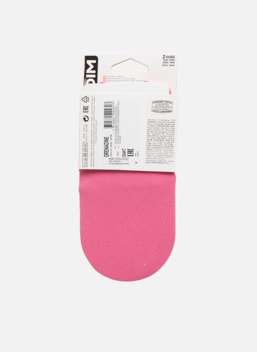 Socks & tights Dim PROTEGE PIED INVISIFIT - SPECIAL BASKETS X2 Pink model view