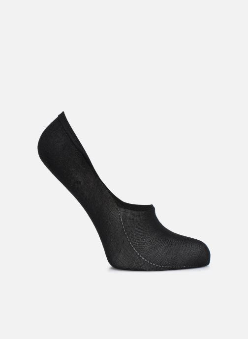 Chaussettes et collants Dim PROTEGE PIED INVISIFIT - SPECIAL BASKETS X2 Noir vue détail/paire