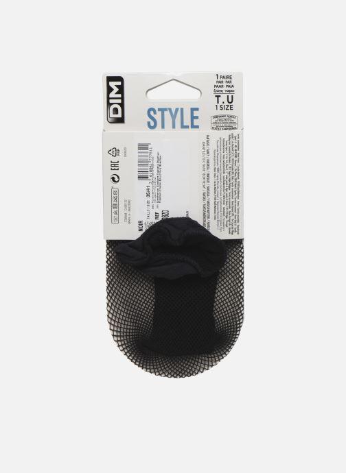 Chaussettes et collants Dim STYLE Socquettes Résille Noir vue portées chaussures