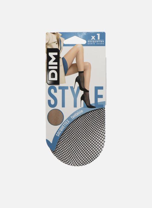 Chaussettes et collants Dim STYLE Socquettes Résille Noir vue détail/paire