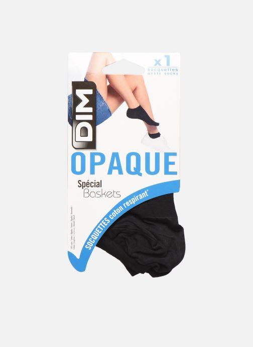 Chaussettes et collants Dim LES OPAQUES Socquettes Special baskets Noir vue détail/paire
