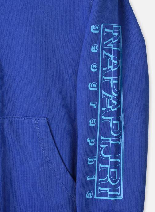 Vêtements Napapijri K Boli Fzh Bleu vue face