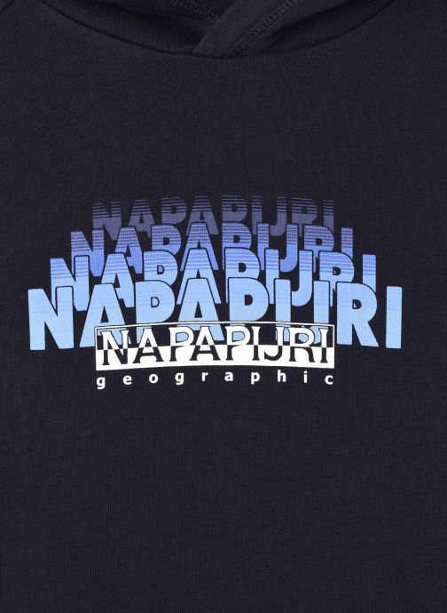 Vêtements Napapijri K Byllo Bleu vue face