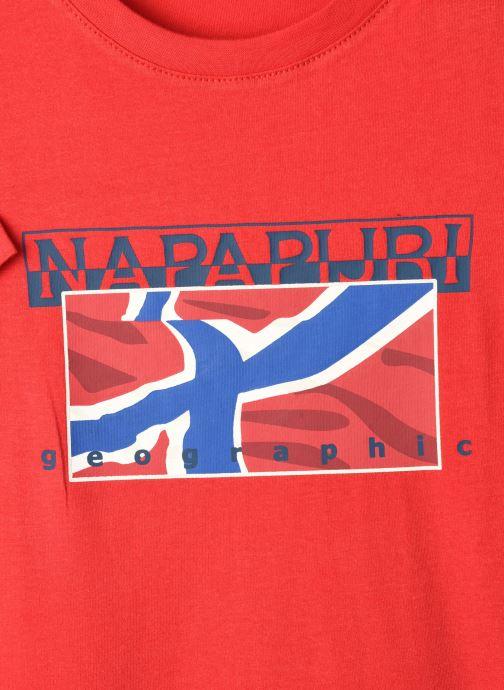 Vêtements Napapijri K Sallyn Rouge vue face