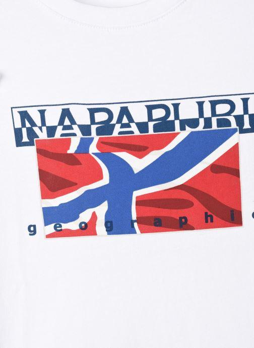 Vêtements Napapijri K Sallyn Blanc vue face