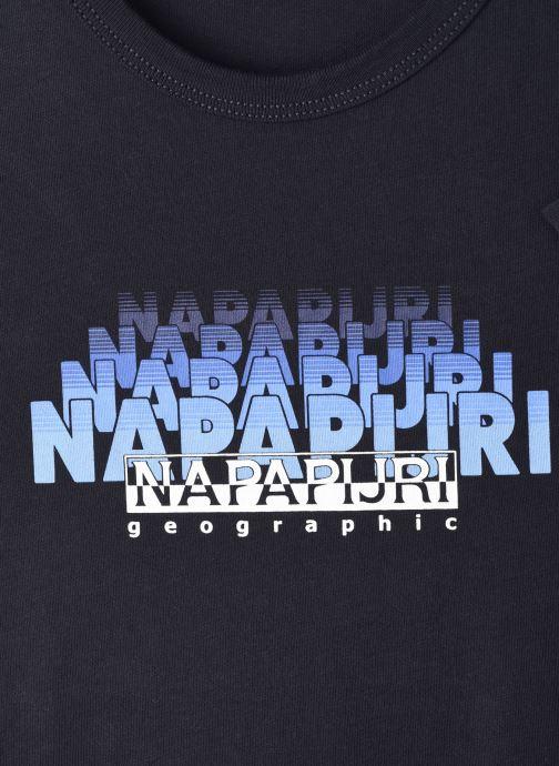 Vêtements Napapijri K Syllo Bleu vue face