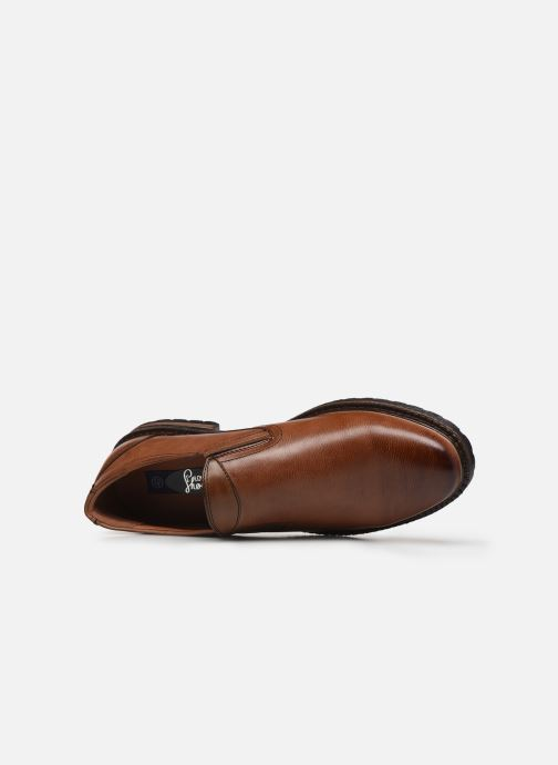 Loafers I Love Shoes THASSIC Brown view from the left