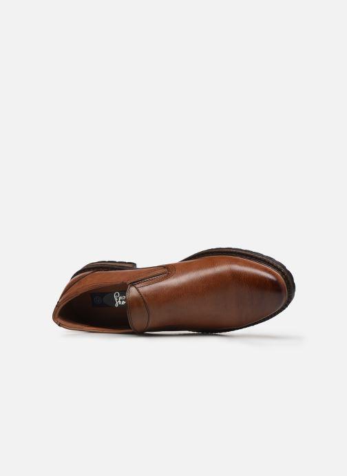 Mocasines I Love Shoes THASSIC Marrón vista lateral izquierda