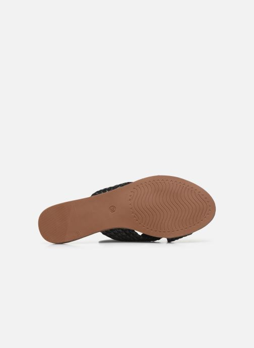 Zoccoli I Love Shoes THAZA Nero immagine dall'alto