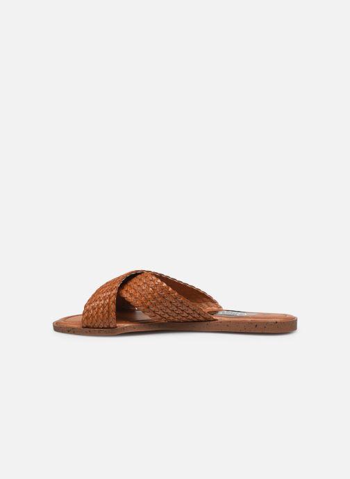 Zuecos I Love Shoes THAZA Marrón vista de frente