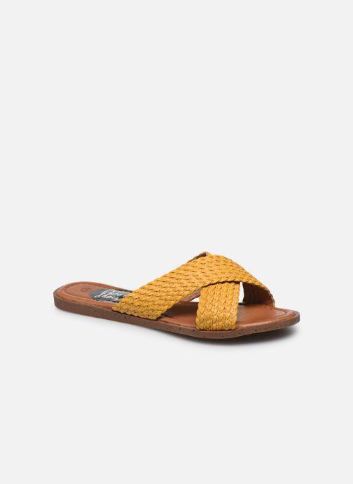 Zuecos I Love Shoes THAZA Amarillo vista de detalle / par