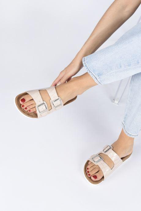 Chaussure Femme Grande Remise I Love Shoes THIC Beige Mules et sabots 436238