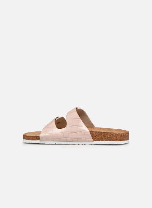 Zuecos I Love Shoes THIC Beige vista de frente