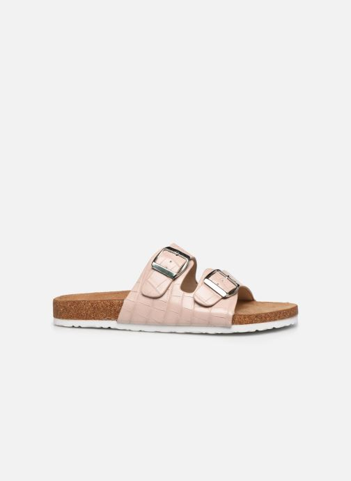 Zuecos I Love Shoes THIC Beige vistra trasera
