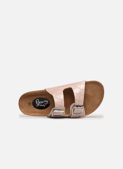 Zuecos I Love Shoes THIC Beige vista lateral izquierda