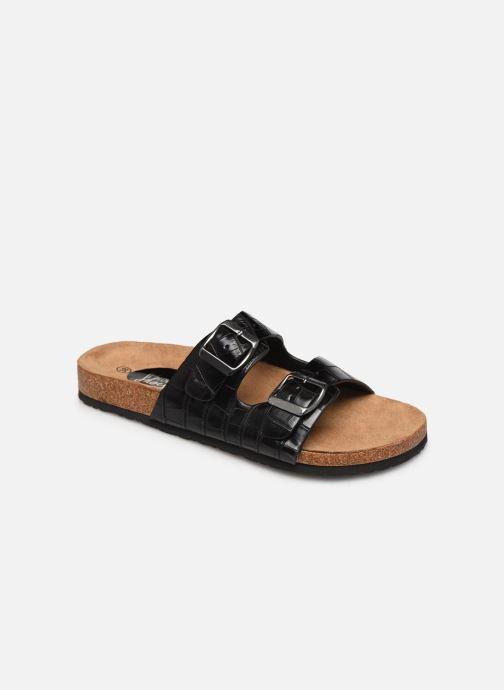 Zuecos I Love Shoes THIC Negro vista de detalle / par