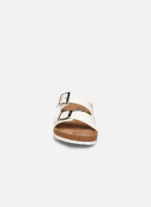 Zuecos I Love Shoes THIC Blanco vista del modelo