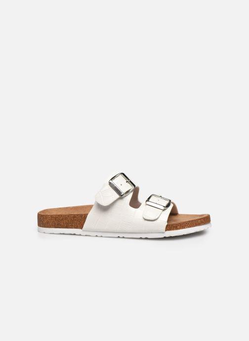 Zuecos I Love Shoes THIC Blanco vistra trasera