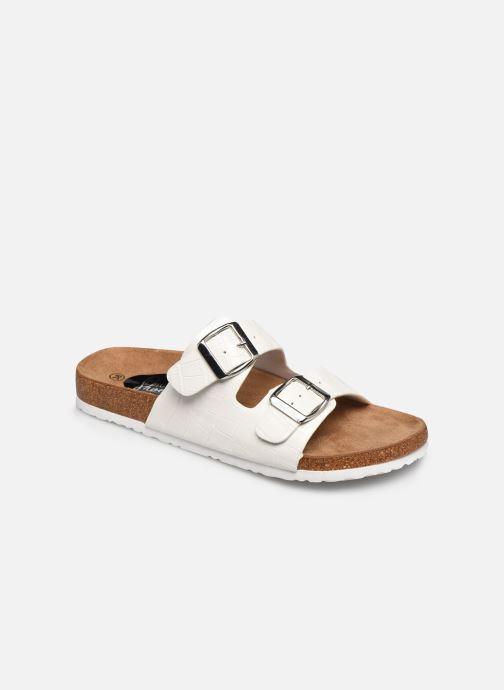 Zuecos I Love Shoes THIC Blanco vista de detalle / par
