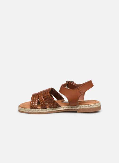 Sandalen I Love Shoes THIMY braun ansicht von vorne