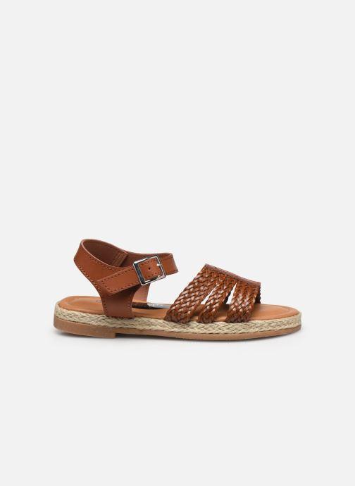 Sandalen I Love Shoes THIMY braun ansicht von hinten