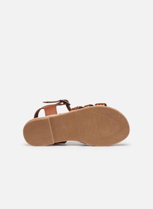 Sandalen I Love Shoes THIMY braun ansicht von oben