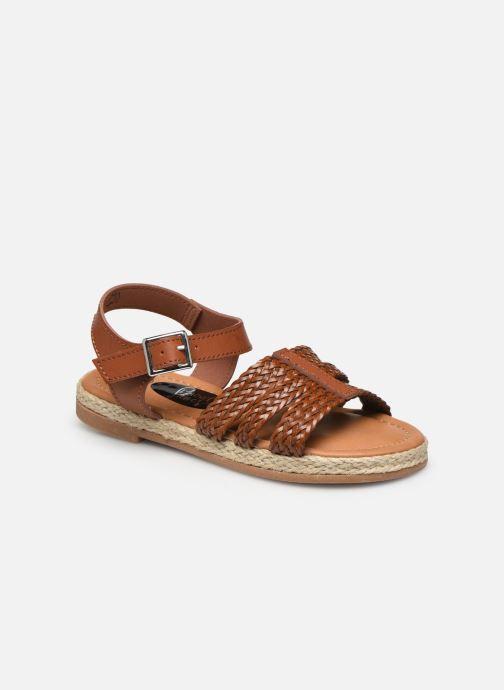 Sandales et nu-pieds I Love Shoes THIMY Marron vue détail/paire