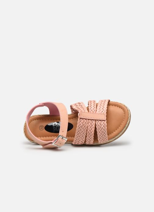 Sandalias I Love Shoes THIMY Rosa vista lateral izquierda