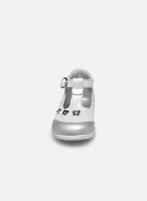 Ballerines Little Mary Loanne Blanc vue portées chaussures