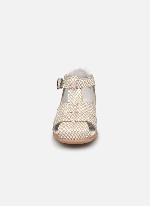 Sandales et nu-pieds Little Mary Lilas Blanc vue portées chaussures