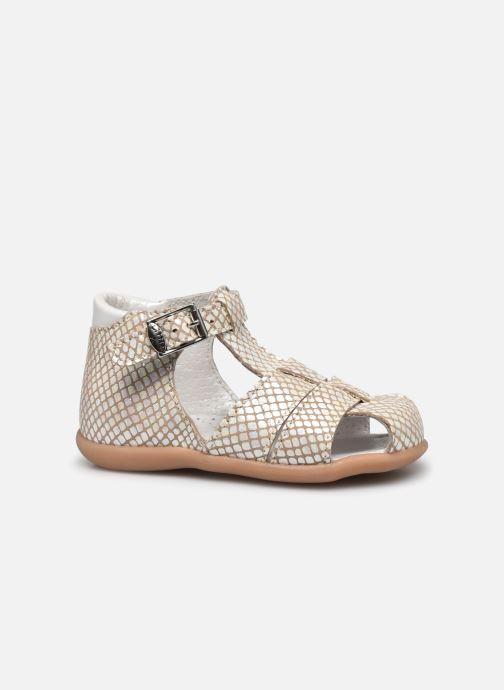 Sandales et nu-pieds Little Mary Lilas Blanc vue derrière