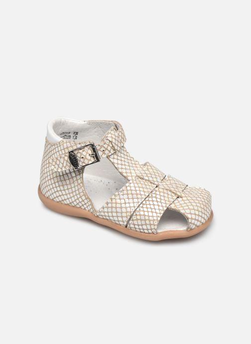 Sandales et nu-pieds Little Mary Lilas Blanc vue détail/paire