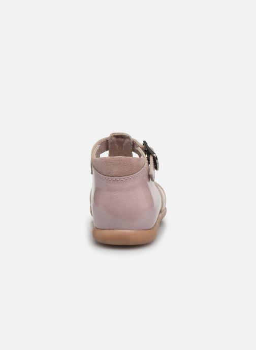 Sandali e scarpe aperte Little Mary Lilas Rosa immagine destra