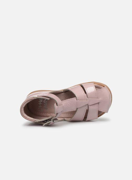 Sandali e scarpe aperte Little Mary Lilas Rosa immagine sinistra