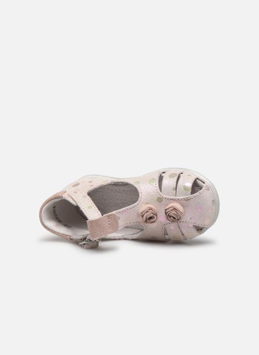 Sandales et nu-pieds Little Mary Loa Rose vue gauche