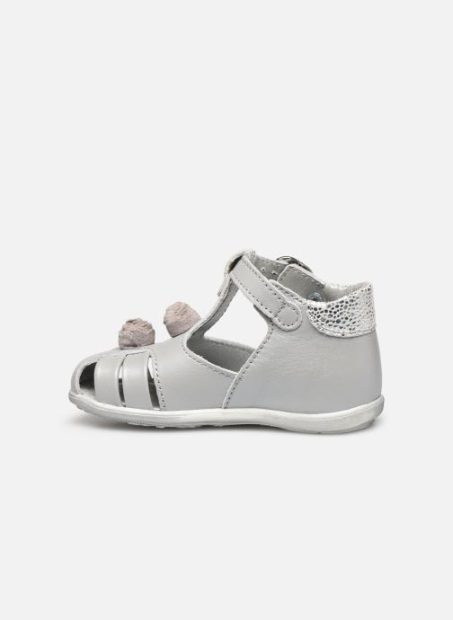 Sandals Little Mary Loa Silver front view