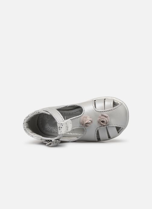 Sandals Little Mary Loa Silver view from the left