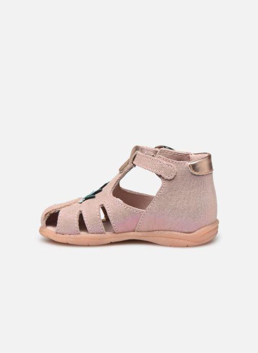 Sandales et nu-pieds Little Mary Louise Rose vue face