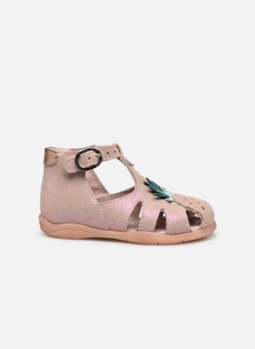 Sandales et nu-pieds Little Mary Louise Rose vue derrière