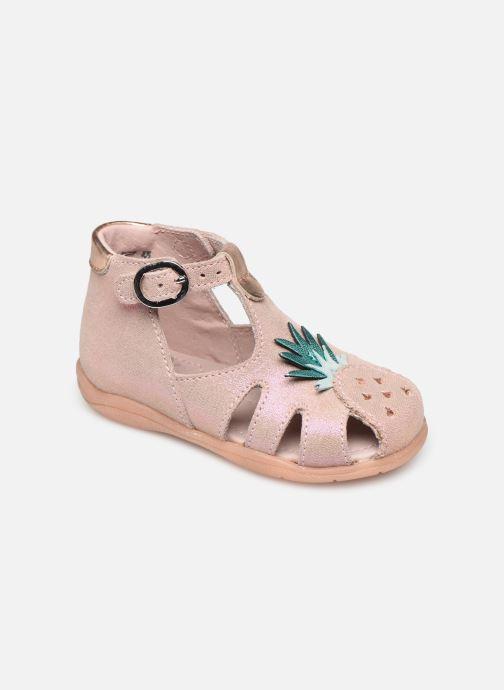 Sandales et nu-pieds Little Mary Louise Rose vue détail/paire