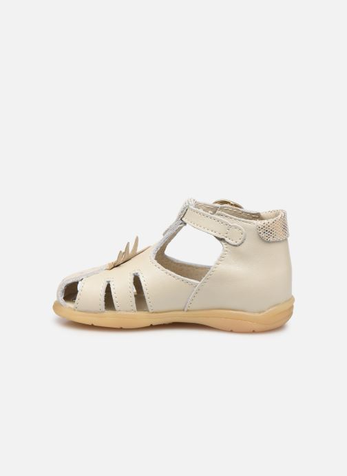 Sandalias Little Mary Louise Beige vista de frente
