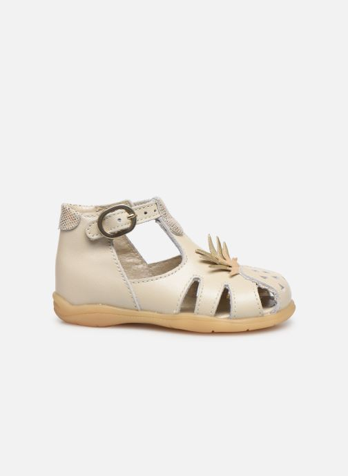Sandalias Little Mary Louise Beige vistra trasera