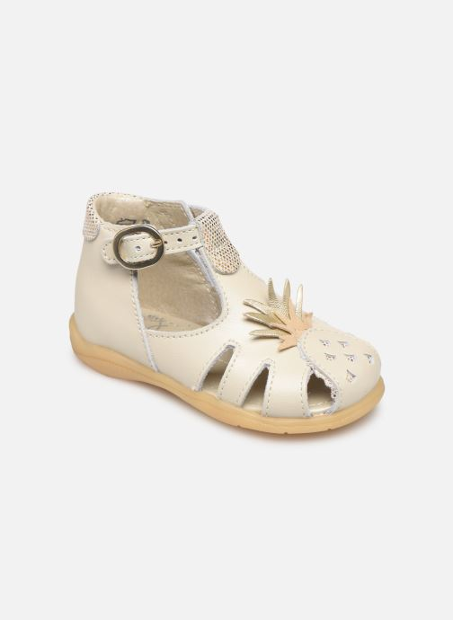 Sandalias Little Mary Louise Beige vista de detalle / par